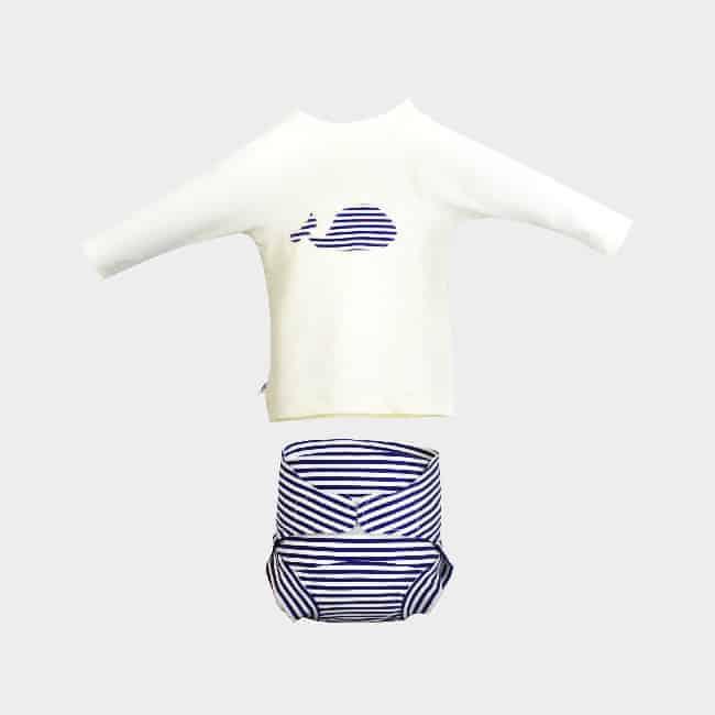 b0bbafba53eb Ensemble T-Shirt anti UV   Maillot – Au Fil des Mois